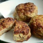 zucchini meatballs with the Thermomix