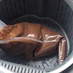 Trick: how to melt chocolate without staining our thermomix