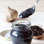 Recipe of black garlic mayonnaise with the Thermomix