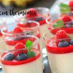 Pannacotta with thermomix