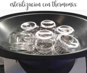 Trick: sterilize with the thermomix