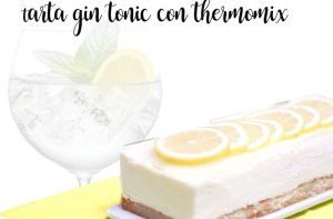 Gin and Tonic Cake with Thermomix