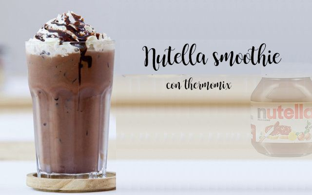 Smoothie Nutella z Thermomixem