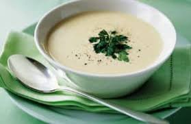 Leek cream soup with the Thermomix