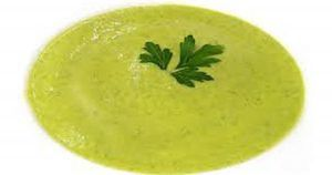 Zucchini puree with the Thermomix