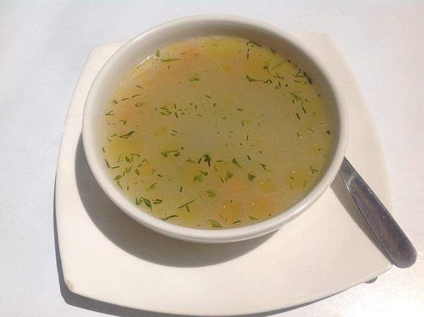 Christmas consommé at the Thermomix