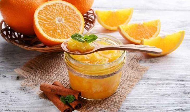 Homemade orange marmalade with the Thermomix