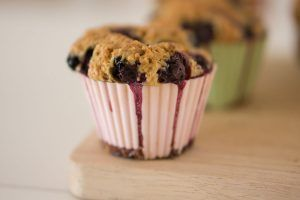 Raspberry muffins with Thermomix