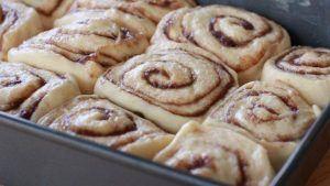 Cinnamon rolls with thermomix