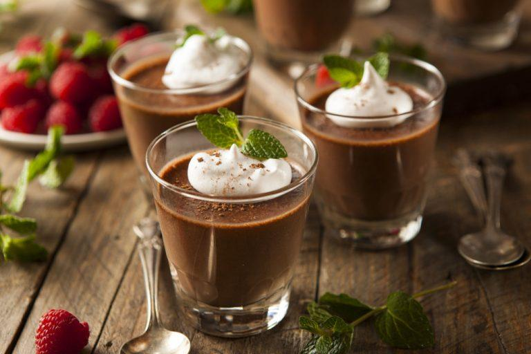 Chocolate mousse with the Thermomix