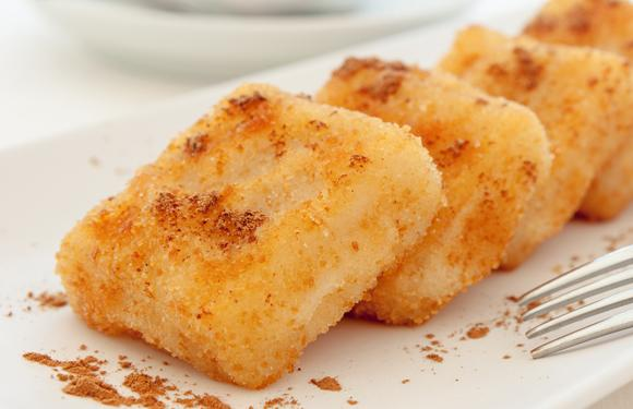 Fried milk with Thermomix