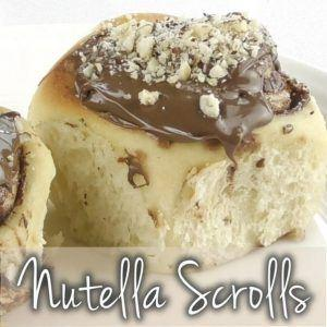 Nutella rolls with Thermomix