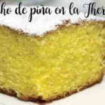 Pineapple sponge cake in the thermomix.