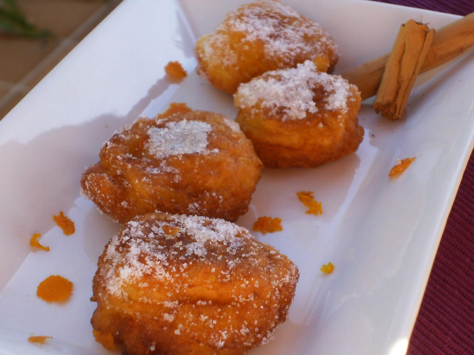 Orange fritters with the thermomix