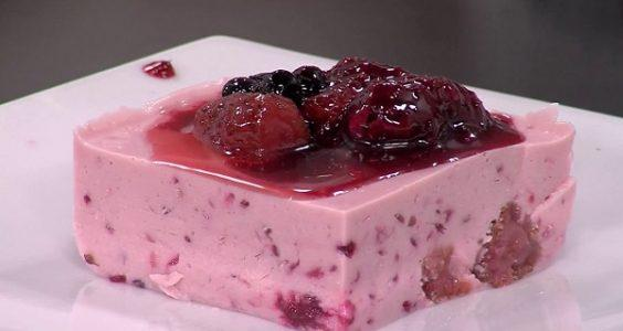 Red fruit mousse with the Thermomix