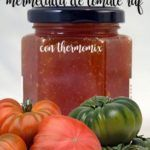 Tomato jam raf with thermomix