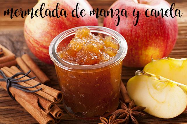 Apple and cinnamon jam in Thermomix