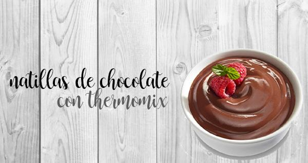 Chocolate Custard with the Thermomix