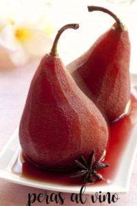 Pears in wine with Thermomix