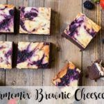 Brownie Cheesecake with thermomix