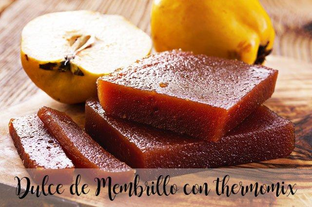 Sweet Quince Paste with thermomix