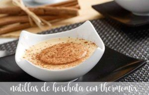Horchata Custard with Thermomix