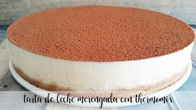 Meringue milk cake with Thermomix
