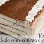 Mrożone ciasto Contessa lub Viennetta z thermomixem