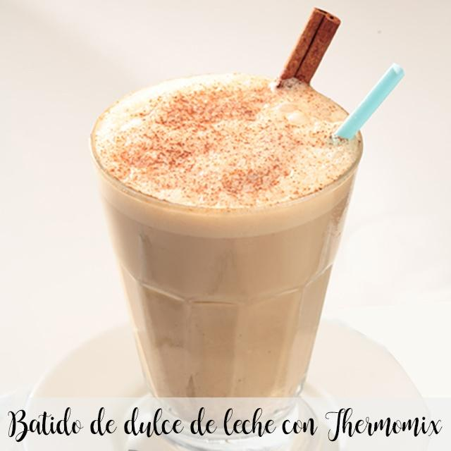 Milk Caramel Spread Smoothie with Thermomix