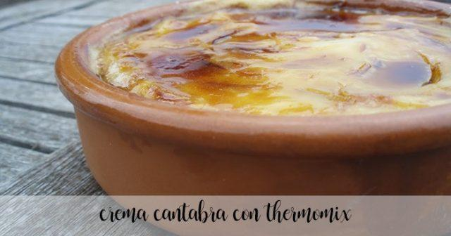 Cantabrian Cream with Thermomix