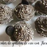 Oreo cookie cupcakes with Thermomix