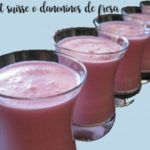 Petit suisse or strawberry danoninos with thermomix