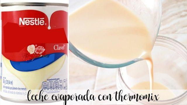 Evaporated milk thermomix