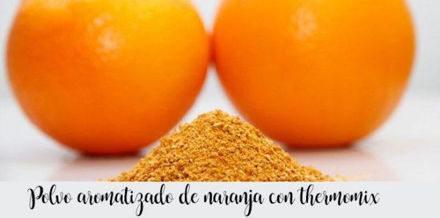Smakowy proszek pomarańczowy z thermomixem
