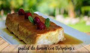 Lemon pudding with thermomix