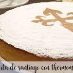 Ciasto Santiago z Thermomixem