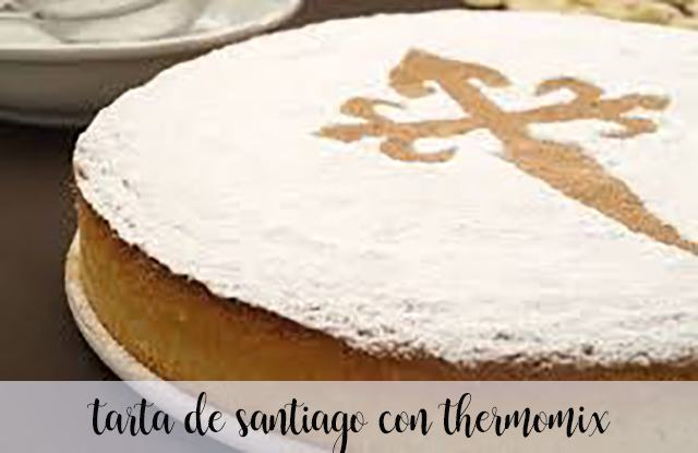 Santiago cake with thermomix