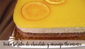 Chocolate and orange iced cake with Thermomix