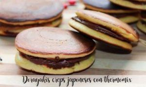 Dorayakis Japanese creps with thermomix