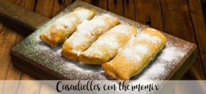 Casadielles with thermomix
