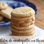 Butter cookies with thermomix