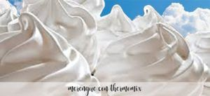 Meringue with Thermomix