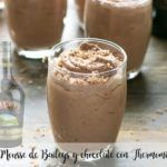 Mousse de Baileys and chocolate with Thermomix