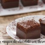 Magic chocolate cake with Thermomix