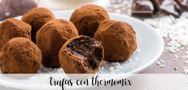 Chocolate Truffles with Thermomix