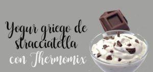 Greek yogurt from stracciatella Thermomix