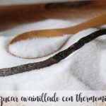 Vanilla sugar with thermomix