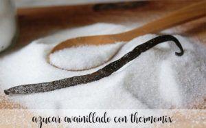 Vanilla sugar with thermomix