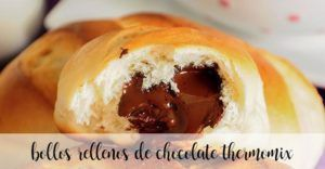 Chocolate filled buns with Thermomix