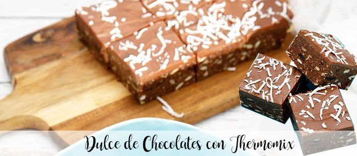 Chocolate candies with thermomix